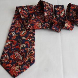 Disney Hidden Mickey Mouse Neck Tie 100% Silk